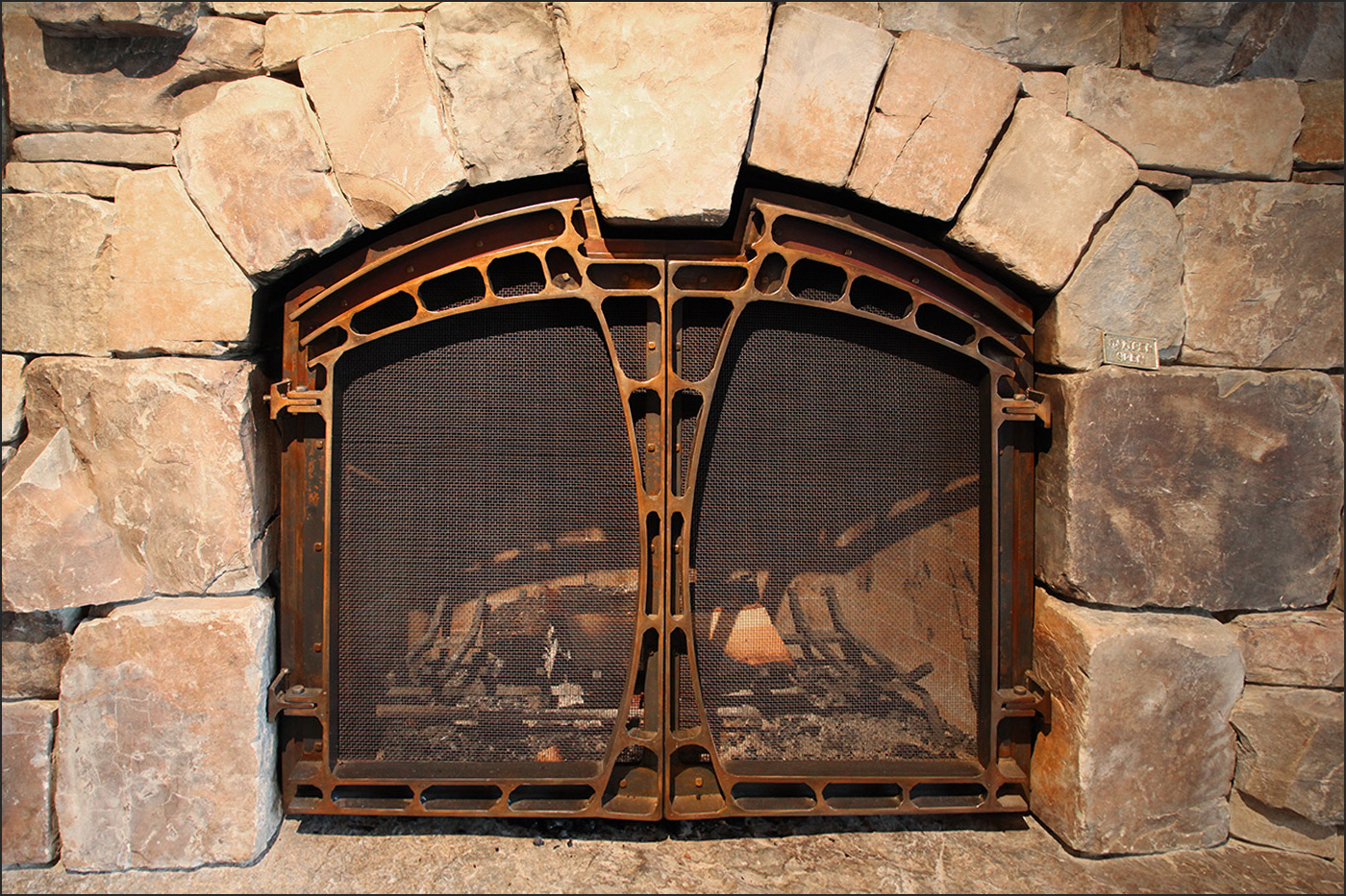 Fireplace Front Andrew Parent