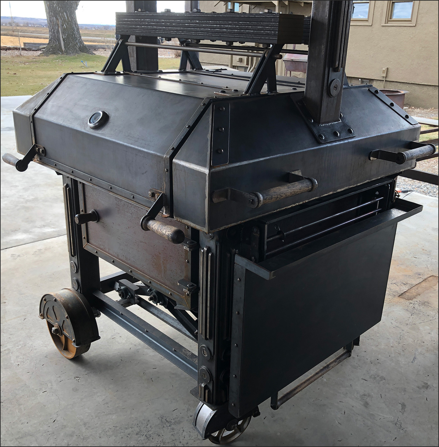 Peaccemaker Grill Custom Grill Andrew Parent