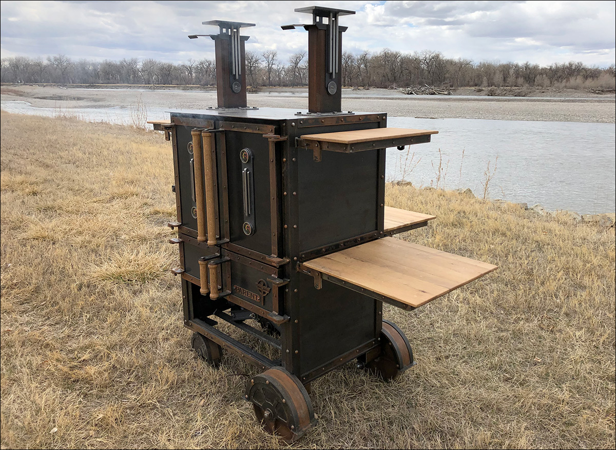 Yellowstone Grill Cabinet Smoker Andrew Parent